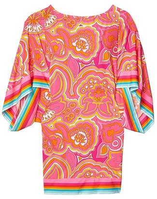 Trina Turk 25th Anniversary - Morning Sunrise Tunic Swimsuit Cover-Up (Multi) Women's Swimwear