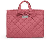 Henri Bendel Quilted Folding Case with Handle