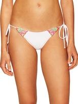Mara Hoffman Floral Embroidered Bikini Bottom
