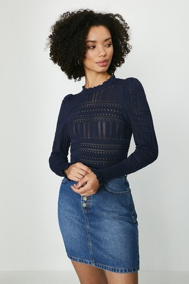 Coast Pointelle Knitted Jumper