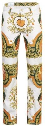 Casablanca Les Oranges printed jeans