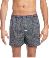 Mitch Dowd Contrast Floral Printed Woven Boxer