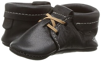 Freshly Picked Soft Sole Oxfords (Infant/Toddler) (Onyx) Kid's Shoes