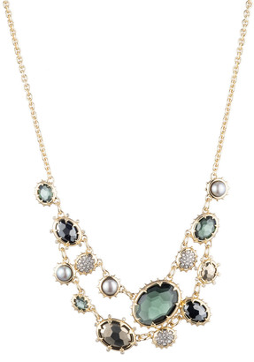 Alexis Bittar Georgian Multi Stone Double Strand Necklace