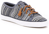 Sperry Seacoast Multi Stripe Canvas Lace-Up Sneakers