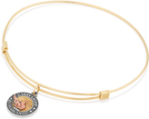 Alex and Ani LIBERTY COPPER CARRY LIGHTTM 14kt Gold Center Charm Bangle, Small