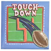 Oopsy Daisy Fine Art For Kids too Sports Football Wall Art - 10x10""