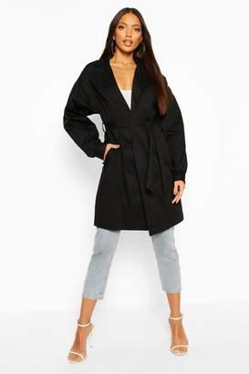 boohoo Extreme Sleeve Trench Coat