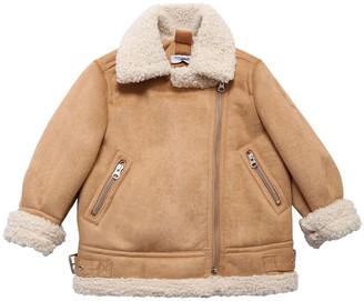 MonnaLisa Faux Shearling Jacket