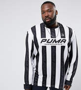 Puma Plus Retro Football Jersey In Black Exclusive To Asos 57660201