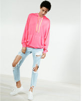 Express oversized popover hoodie