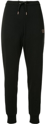 Ea7 Emporio Armani Tapered Fit Track Pants
