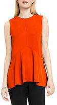 Vince Camuto Petite Sleeveless Flared Top