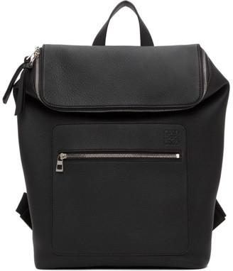 Loewe Black Slim Goya Backpack
