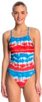 Speedo Water Supply Printed One Back One Piece Swimsuit 8136805