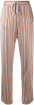 Marco De Vincenzo striped soft trousers - women - Polyamide/Polyester/Acetate - 42