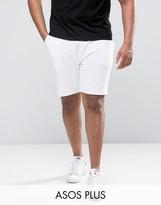 Asos PLUS Skinny Short In White