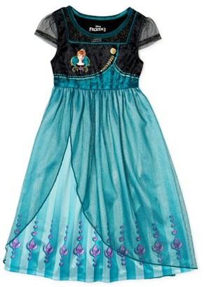 Frozen 2 Girls Short Sleeve Nightgown, Sizes 4-12