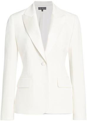 St. John Tux Faille Jacket
