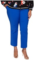 Vince Camuto Specialty Size Plus Size Front Zip Ankle Pants