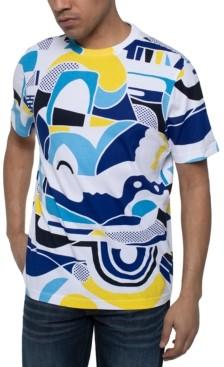 Sean John Men's Abstract Print T-Shirt