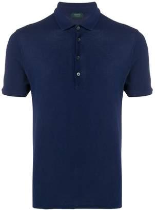 Zanone slim-fit polo shirt