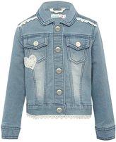 M&Co Crochet denim jacket