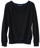 Petit Bateau Womens cotton knit sweater with a cashmere feel