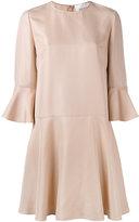 Valentino flared sleeve dress