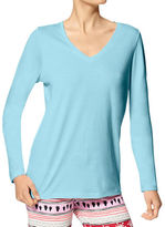 Hue Plus Solid Long Sleeve Top