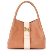 Zanellato Model Zoe M Pura Shoulder Bag In Tan Leather