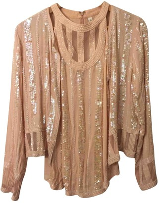 Steele Melbourne Pink Silk Top for Women