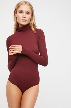 Free People Seamless Turtleneck Bodysuit by Intimately at