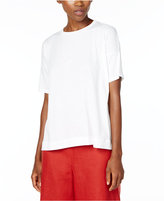 Eileen Fisher Organic Cotton Boxy T-Shirt