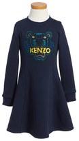 Kenzo Toddler Girl's Tiger Logo Dress