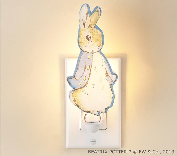 Pottery Barn Kids Peter Rabbit Nightlight