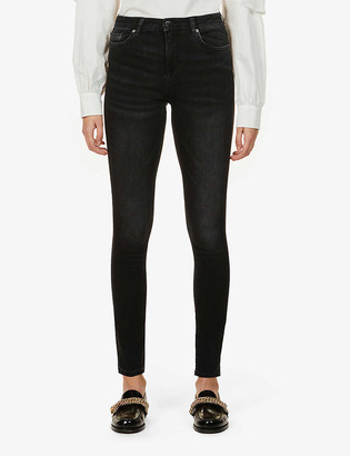 BA&SH Ami skinny mid-rise stretch-denim jeans