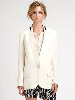 By Malene Birger Silk & Wool Blazer