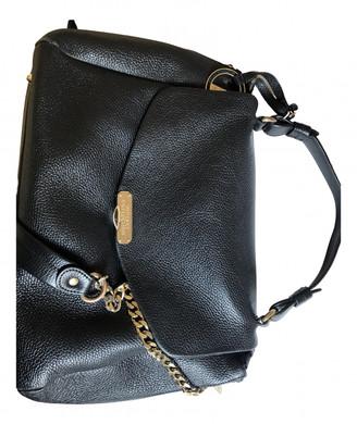 Versace Black Leather Handbags