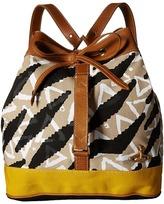 Vivienne Westwood Africa Tiger Triangle Runner Duffel Bag