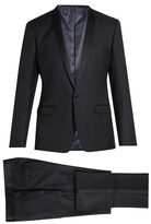 Dolce & Gabbana Shawl-lapel Wool And Silk-blend Tuxedo