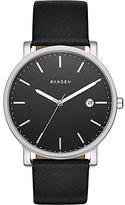Skagen Men's SKW6294 Hagen Black Leather Watch