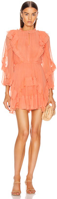 Ulla Johnson Aberdeen Dress in Coral | FWRD