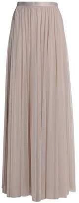 Needle & Thread Grosgrain-trimmed Gathered Tulle Maxi Skirt
