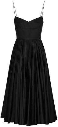 KHAITE Exclusive to Mytheresa Pamela cotton midi dress