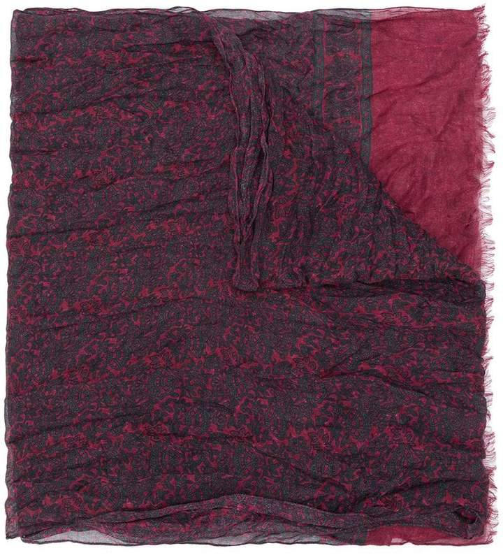 John Varvatos patterned scarf