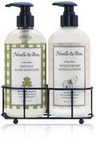Noodle and Boo Instant Hand Sanitizer Hand Lotion Caddy Gift Set