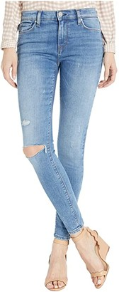 Hudson Nico Mid-Rise Super Skinny Ankle Jeans in Remixing (Remixing) Women's Jeans