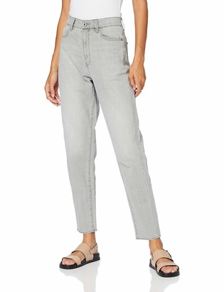 G Star Women's Janeh Ultra High Mom Ankle Wmn Jeans