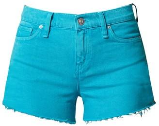 Hudson Gemma Mid-Rise Cut-Off Denim Shorts